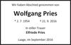 Wolfgang Pries
