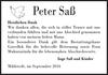 Peter Saß