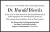 Dr. Harald Diercks