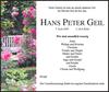 HANS PETER GEIL
