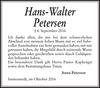 Hans-Walter Petersen