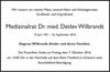 Medizinalrat Dr. med. Detlev Wilbrandt