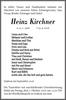 Heinz Kirchner