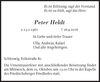 Peter Heldt