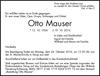 Otto Mauser