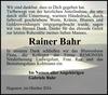 Rainer Bahr