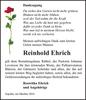 Reinhold Ehrich