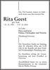 Rita Geest