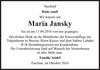 Maria Jansky