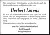 Herbert Lorenz