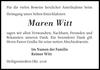 Maren Witt