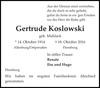Gertrude Koslowski
