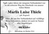 Marlis Luise Thiele