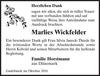 Marlies Wickfelder