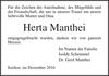 Herta Manthei