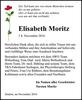 Elisabeth Moritz