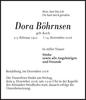 Dora Böhrnsen