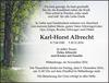 Karl-Horst Albrecht