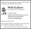 Willi Kalbow