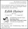 Edith Hainer