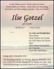 Ilse Gotzel
