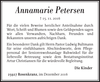 Annamarie Petersen