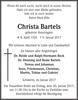 Christa Bartels