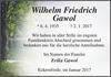 Wilhelm Friedrich Gawol