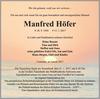 Manfred Höfer