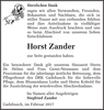 Horst Zander