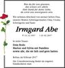 Irmgard Abe