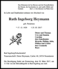 Ruth Ingeborg Heymann