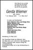 Gerda Wiemer