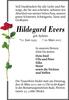 Hildegard Evers