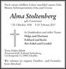 Alma Stoltenberg