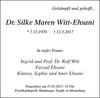 Dr. Silke Maren Witt-Ehsani