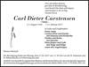Carl Dieter Carstensen