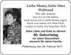 Mama Oma Waltraud