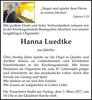 Hanna Luedtke