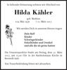 Hilda Kähler