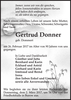 Gertrud Donner