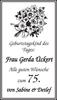Frau Gerda Ückert