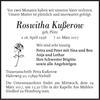 Roswitha Kußerow