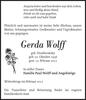 Gerda Wolff