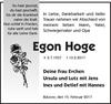 Egon Hoge