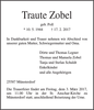 Traute Zobel