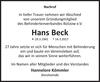 Hans Beck
