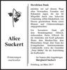 Alice Suckert