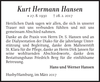 Kurt Hermann Hansen