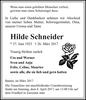 Hilde Schneider